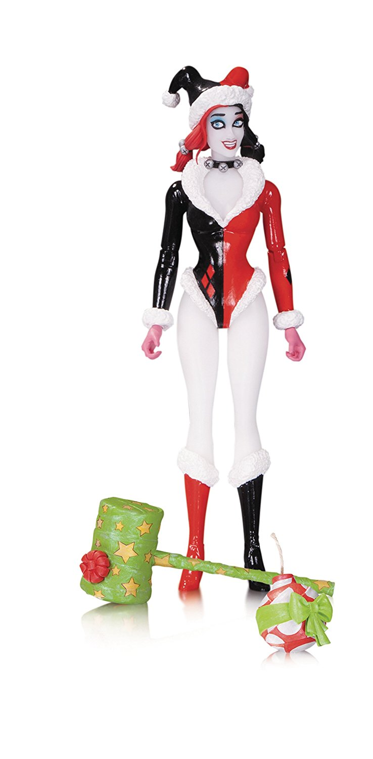 Holiday Harley Quinn DC Designer Series Amanda Conner Action Figure