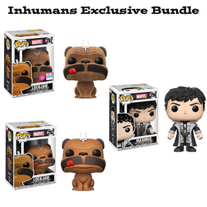 Inhumans Funko Pop Exclusive Bundle