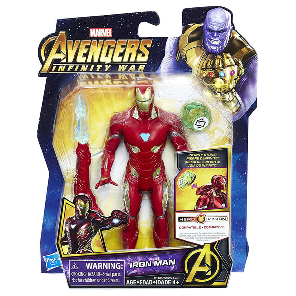 Iron Man with Infinity Stone Marvel Avengers Infinity War Action Figure