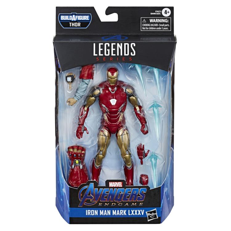 Iron Man Mark LXXXV Avengers Endgame Marvel Legends 6-Inch Action Figure