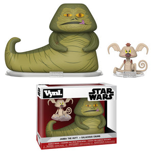 Jabba the Hutt and Salacious Crumb Funko VYNL 2-Pack
