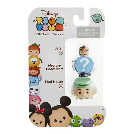 Jafar and Mad Hatter Disney Tsum Tsum Series 4 Minifigure 3-Pack