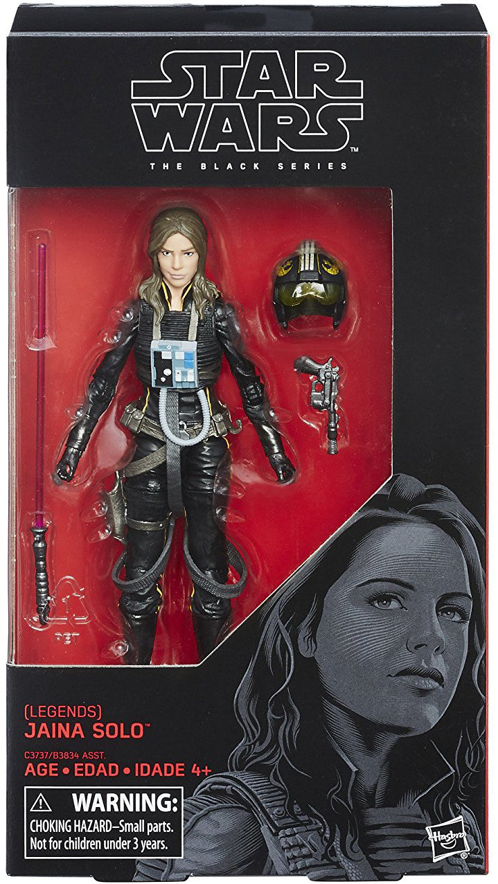 Jaina Solo Star Wars The Last Jedi Black Series 6 Inch Figure