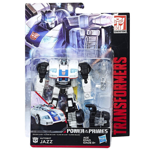 Autobot Jazz Transformers Generations Power of the Primes Deluxe Class