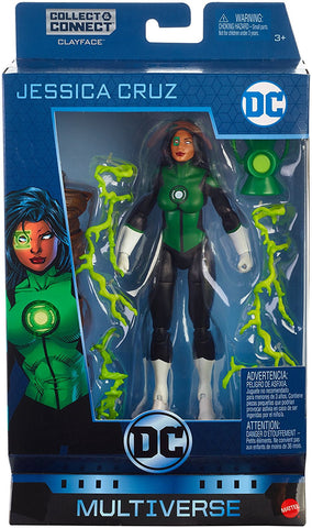 Jessica Cruz DC Comics Multiverse Green Lantern Action Figure