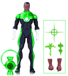 Green Lantern John Stewart Mosaic DC Comics Icons Action Figure