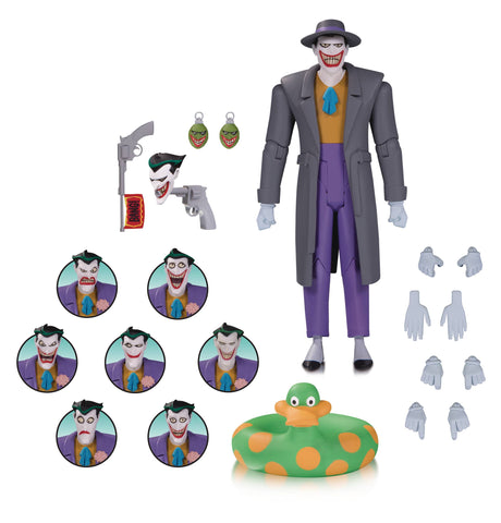 Joker Expressions Pack Batman The Animated Series Action Figure