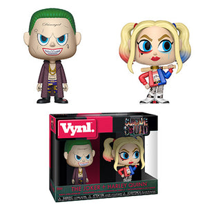 Joker and Harley Quinn Funko VYNL Suicide Squad