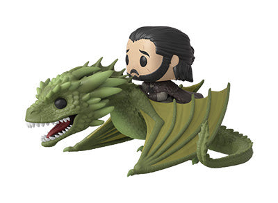 Rhaegal with Jon Snow Funko Pop Rides Game of Thrones