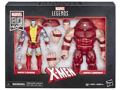 Colossus and Juggernaut Marvel Legends 80th Anniversary 6-Inch Action Figure 2-Pack