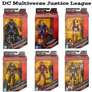 Justice League DC Comics Multiverse Action Figure Set