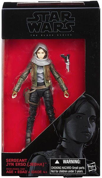 Jyn Erso Star Wars Rogue One Black Series 6-Inch