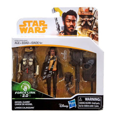 Kessel Guard and Lando Calrissian Force Link 2.0 Solo A Star Wars Story 3.75 Inch Figure 2-Pack