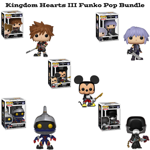 Kingdom Hearts III Funko Pop Bundle