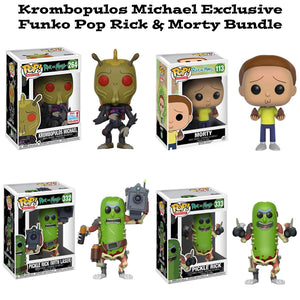 Krombopulos Michael Fall Convention Exclusive Funko Pop! Rick and Morty Bundle