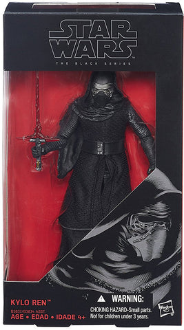 Kylo Ren Star Wars Force Awakens Black Series 6-Inch