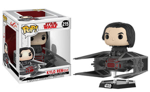 Kylo Ren with TIE Fighter Funko Pop! Star Wars
