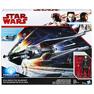 Kylo Ren's TIE Silencer Star Wars The Last Jedi Vehicle