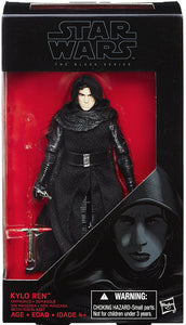 Kylo Ren Unmasked Star Wars Force Awakens Black Series 6-Inch
