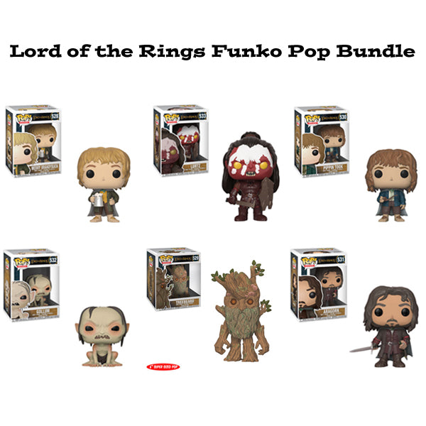 Lord of the Rings Funko Pop! Movies Bundle