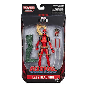 Lady Deadpool Marvel Legends Sauron Build-A-Figure Wave