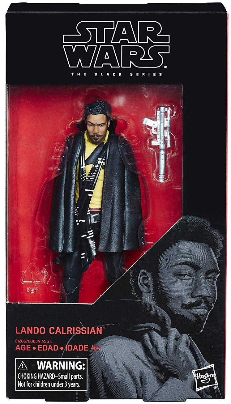 Lando Calrissian Star Wars The Black Series 6 Inch