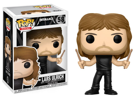Lars Ulrich Funko Pop! Rocks Metallica