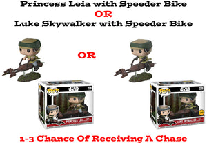 Princess Leia with Speeder Bike Funko Pop! Star Wars