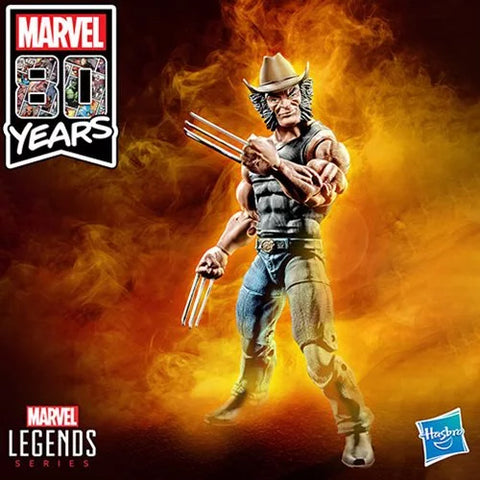 Cowboy Logan X-Men Marvel Legends Exclusive 6-Inch Action Figure