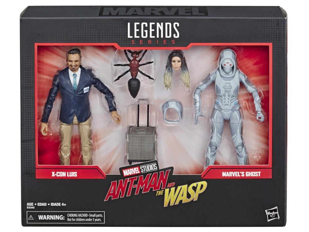 Luis and Ghost Marvel Legends 80th Anniversary 6-Inch Action Figure 2-Pack