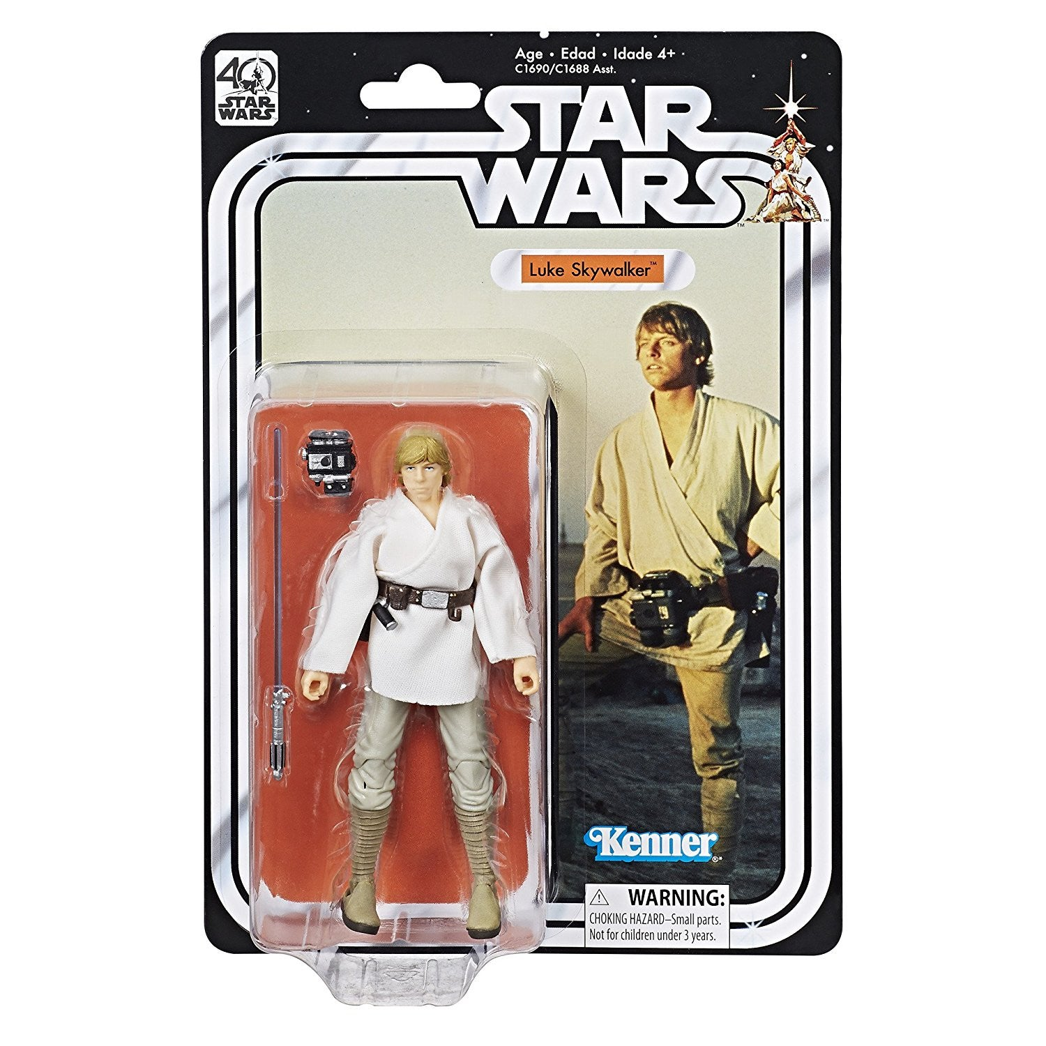 Luke Skywalker Star Wars The Black Series 40th Anniversary 6-Inch