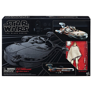 Luke's Landspeeder with Luke Skywalker Star Wars Black Series Vehicle