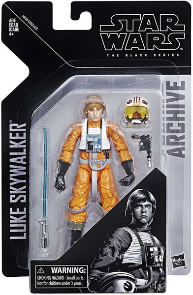 Luke Skywalker Pilot Star Wars Black Series Archive Figure
