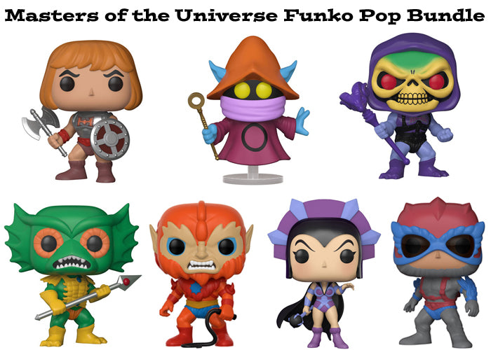 Masters of the Universe Funko Pop! Television Bundle