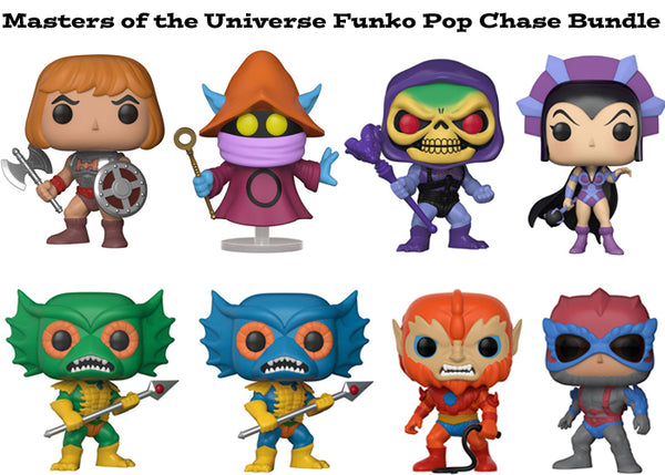 Masters of the Universe Funko Pop! Television Chase Bundle