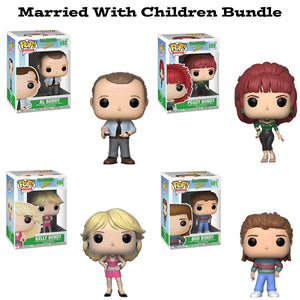 Married with Children Funko Pop Television Bundle