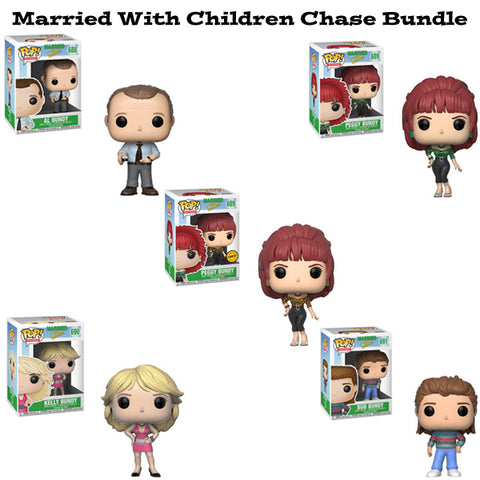 Married with Children Funko Pop Television Chase Bundle of 5