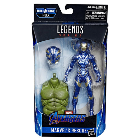 Rescue Avengers Endgame Marvel Legends 6-Inch Action Figure