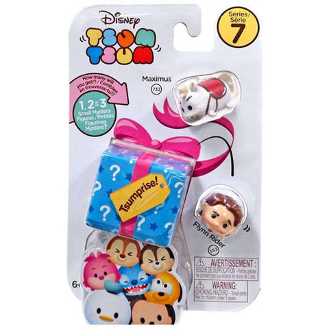 Maximus and Flynn Rider Disney Tsum Tsum Series 7 Tsumprise 3-Pack