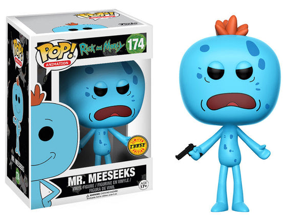 Mr. Meeseeks Funko Pop! Animation Rick and Morty