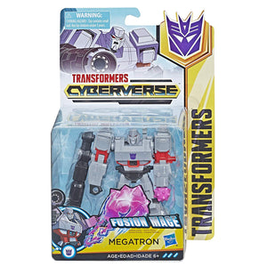 Megatron Transformers Cyberverse Warrior Class