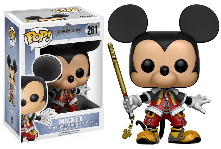 King Mickey Funko Pop! Disney Kingdom Hearts