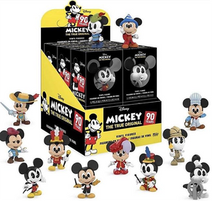Mickey's 90th Anniversary Funko Mystery Minis Sealed Case
