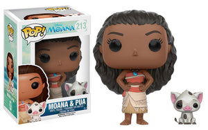 Moana and Pua Funko Pop! Disney