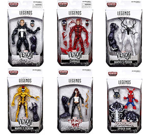 Monster Venom Marvel Legends Build-A-Figure Set of 6