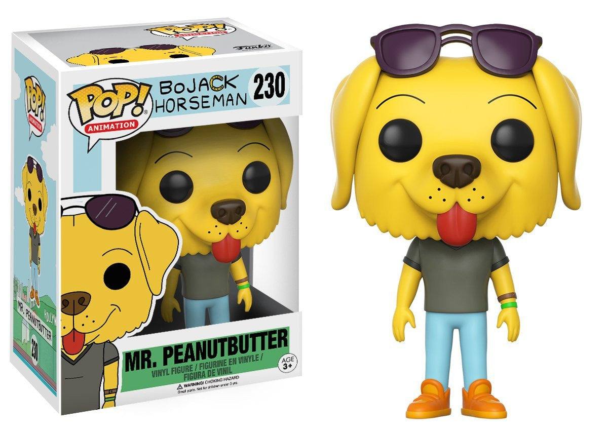 Mr. Peanutbutter Funko Pop! Animation BoJack Horseman Not Mint