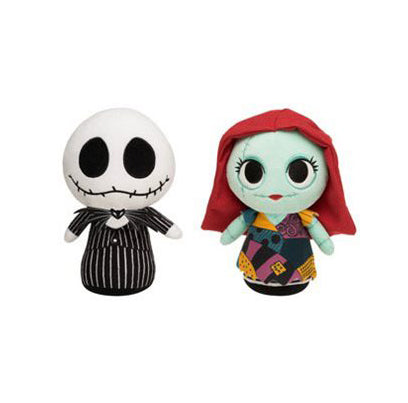 Jack and Sally Nightmare Before Christmas Funko Supercute Plush