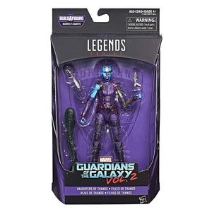 Nebula Guardians Of The Galaxy Marvel Legends 6-Inch Action Figure Mantis Build-A-Figure Wave