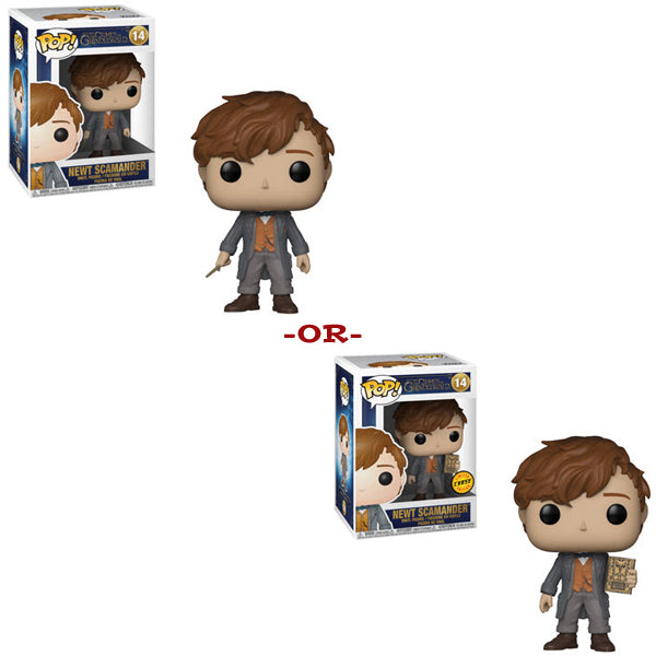 Newt Scamander Funko Pop Fantastic Beasts Crimes of Grindelwald