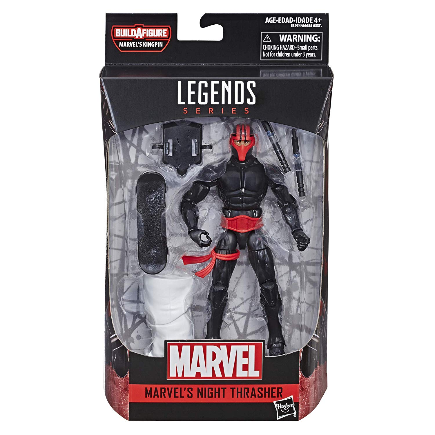 Night Thrasher Marvel Legends Kingpin Wave